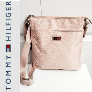 Blush adjustable crossbody / handbag